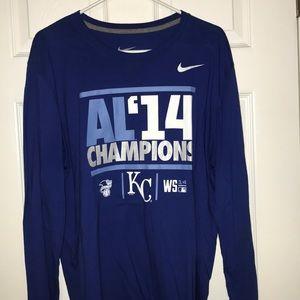 Nike Kansas City Royals Men's Long Sleeve T-Shirt